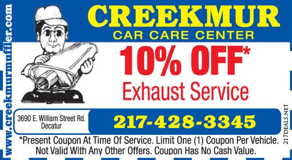 exhaust service decatur illinois