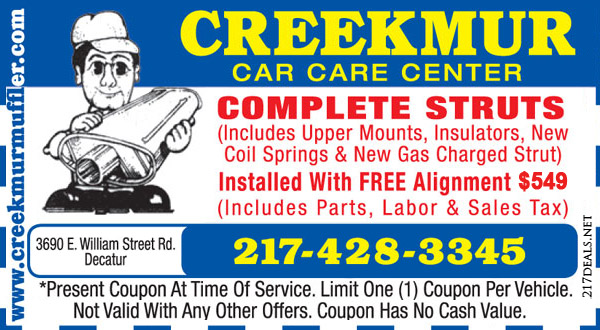 complete struts coupons near decatur il